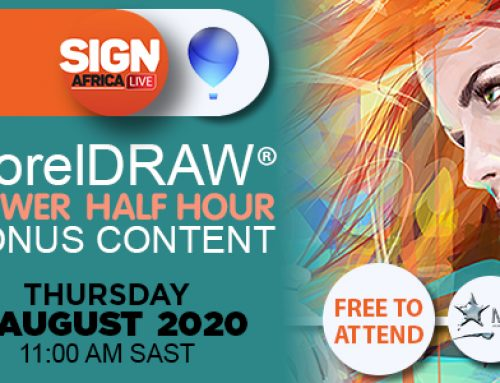 Sign Africa Live Presenting Free CorelDRAW Power Half Hour