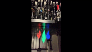 RGB fluorescent ink