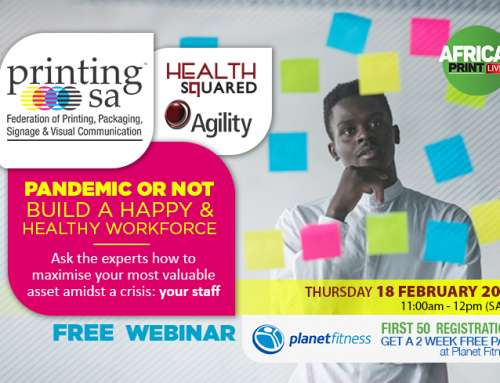 Free Webinar: Prioritising Wellbeing In The Printing And Packaging Industry